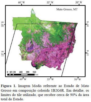 Pesquisa Agropecuária Brasileira - Imagens mono e multitemporais Modis para estimativa da área com soja no estado de Mato Grosso | Geoprocessing | Scoop.it
