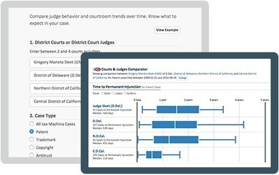 [USA] New Comparator Apps from Lex Machina Empower Lawyers To Instantly Compare Courts, Judges, And Law Firms : Legal Practice Intelligence | Library Collaboration | Scoop.it