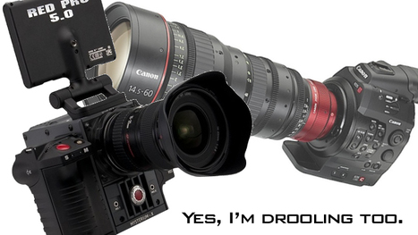 Canon EOS C300 and RED Scarlet X – A Great Day for Video Cameras | TechWatch | Scoop.it