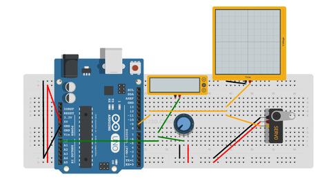 Arduino and Servo  123D Circuits | teacher in love | Scoop.it