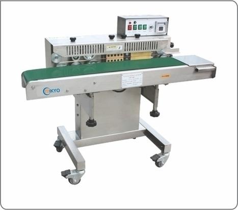 Mikyo cung cấp máy hàn miệng túi MK-FRW200 | Băng tải, nhôm định hình, con lăn, giá kệ, máy tự động, bất động sản, nhà đất | Scoop.it