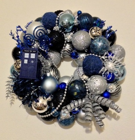15 Delightfully Geeky Wreaths (christmas, holidays, wreaths, marvel, geek, nerd, video games) - ODDEE | enjoy yourself | Scoop.it