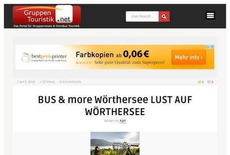 I will add your Hotel or touristic center to the must visited for $5 on www.fiverr.com | topnews.koeln | Scoop.it