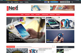 TechNext Blogger Template | Blogger Templates Gallery | Blogger themes | Scoop.it