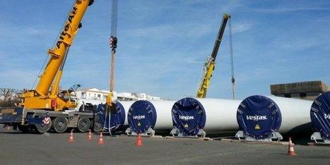 La Rochelle : un beau trafic d'éoliennes au Grand Port maritime | Eolien en bref | Scoop.it