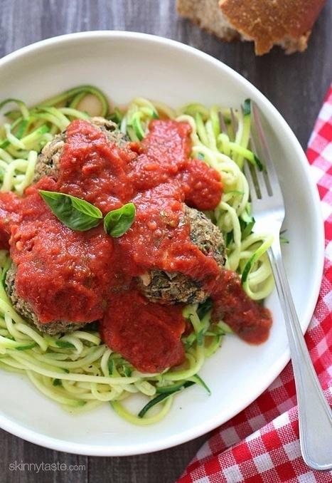 Vegan Eggplant Meatballs | Skinnytaste | My Vegan recipes | Scoop.it