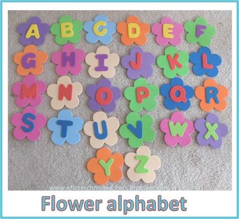 ESL/EFL Preschool Teachers: Flower Theme | Designing lessons for EFL classes | Scoop.it