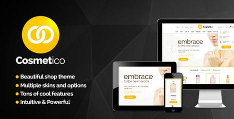 Cosmetico 1.0 Responsive eCommerce WordPress Theme | Download Free Full Scripts | cosmetico | Scoop.it