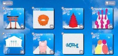 Morphi, la app en iPad para modelar objetos en ... | Apps para la educación | Scoop.it