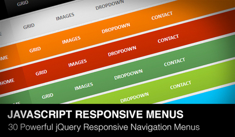30 Powerful jQuery Responsive Navigation Menus | Daily Design Notes | Scoop.it