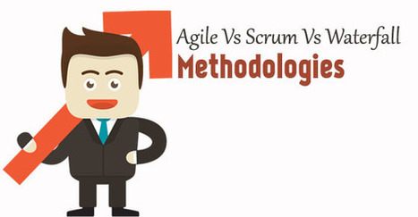 Agile vs Scrum vs Waterfall Methodologies Differences - WiseStep   Career development, Hiring,Recruitment, Interviews, Employment and Human Resources   Scoop.it