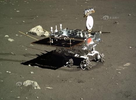 Chang'e-3, problemi meccanici al rover Yutu sulla superficie Lunare | Fisica - Physics | Scoop.it