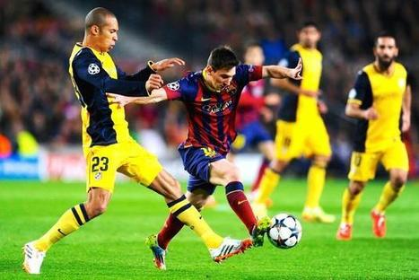 Post Match Stats: Barcelona vs. Atletico Madrid with Score and Grades, AfterHours | UEFA Champions League | Scoop.it