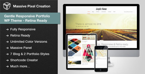 Gentle v1.0.8 Responsive Portfolio WP Theme Retina Ready FULL Download | PremiumTemplatesDownload | PremiumTemplatesDownload | Scoop.it