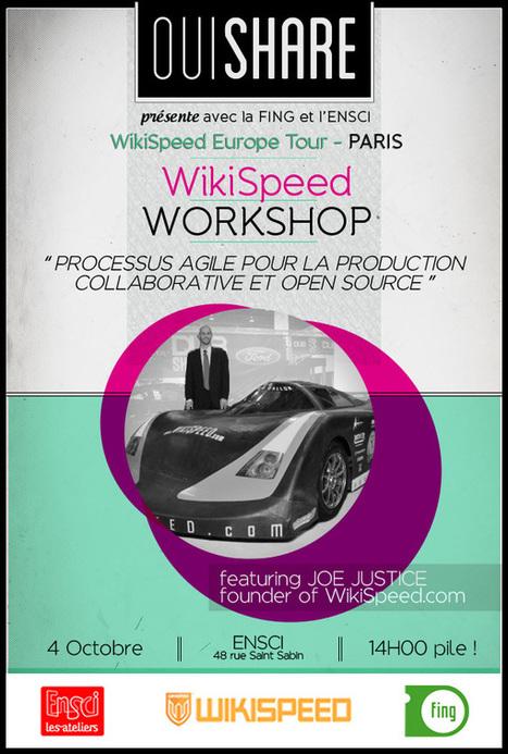 WikiSpeed Workshop: des processus agiles appliqués à la production - 4 octobre Paris - Fondation Internet Nouvelle Génération   partage&collaboratif   Scoop.it