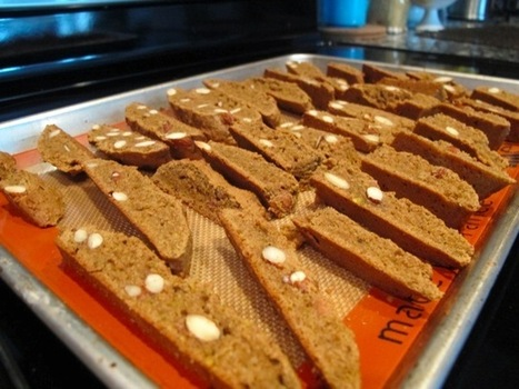 Pistachio Almond Biscotti - Using Nut Milk Pulp - Food Babe | Health and Nutrition | Scoop.it