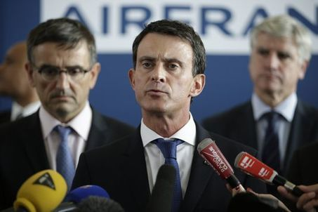 Crise à Air France : Valls affiche sa fermeté face aux « voyous » | Crise et progrès | Scoop.it