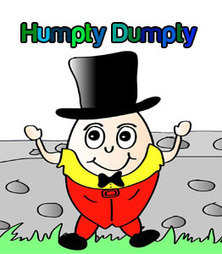 Fun Printable Craft : Humpty Dumpty Coloring Story Book | Fun with Printer Crafts | Scoop.it