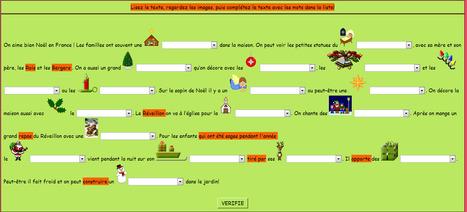 Noël en France | Français Langue Étrangère | Scoop.it