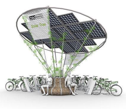 Borne de recharge solaire pour vélos électriques - ZED E-BIKE - ZEDfactory - Vidéos | véhicules électriques étude de marché | Scoop.it