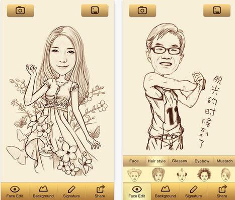 Convierte tus fotos en caricaturas con aplicación gratis [Android e iOS] | AprendiTIC | Scoop.it