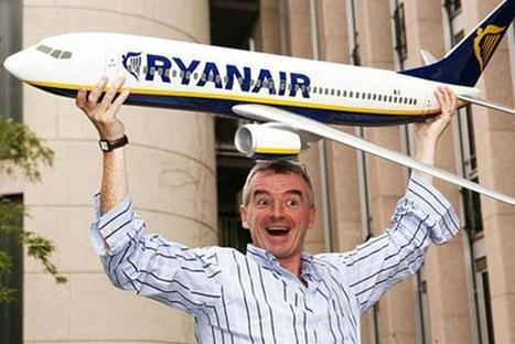 Ryanair's Michael O'Leary: 'Short of committing murder, bad publicity sells more seats' | Marketing Magazine | Travel and Media trends | Scoop.it