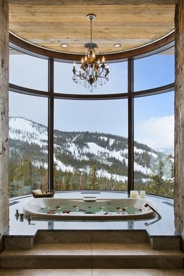 Monday Moment #1: A Bathroom View To Aim For - The Boundary Bathrooms Blog   Bathrooms   Scoop.it