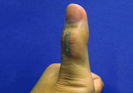 Silver nanowire sensors could be the flexible foundation for new wearables   Digital Distillery   Scoop.it