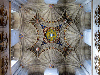 Dale's Blog: Fan vaults of Canterbury Cathedral | Underground tunnels | Scoop.it