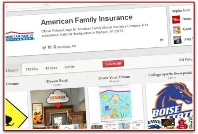 Insurer's measured approach to Pinterest pays off | PR Daily | Public Relations & Social Media Insight | Scoop.it