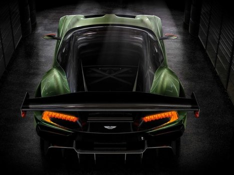 The $2.3 million Aston Martin Vulcan hypercar is way more insane than we imagined | A Drunk Designer | Scoop.it