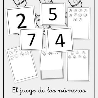 Juego de los números para Educación Infantil | mate paola | Scoop.it