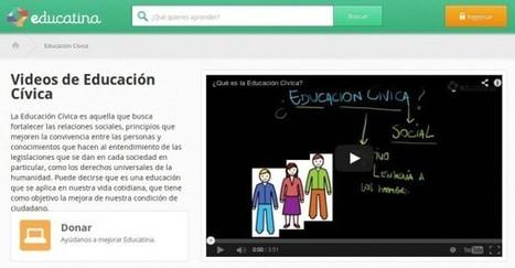 Vídeos sobre Educación cívica, en español | Edu-Recursos 2.0 | Scoop.it
