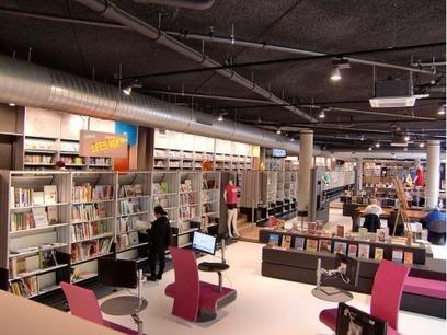 L'e- veille en 6 liens (6) : spécial architecture et aménagement de bibliothèque | Evolutions des bibliothèques et e-books | Scoop.it