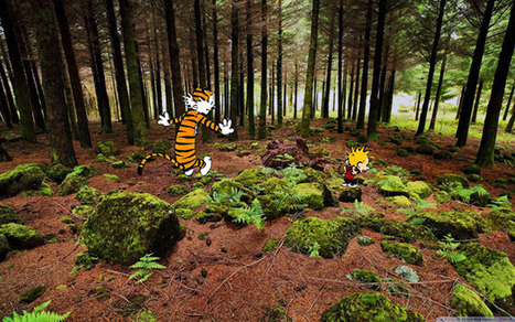 Calvin and Hobbes Photoshopped Into Photographs of Real Locations | Life | Scoop.it