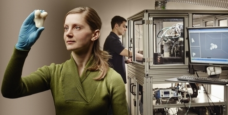 This 3D Printer Creates Real Bones Using Synthetic Material | 3D_Materials journal | Scoop.it