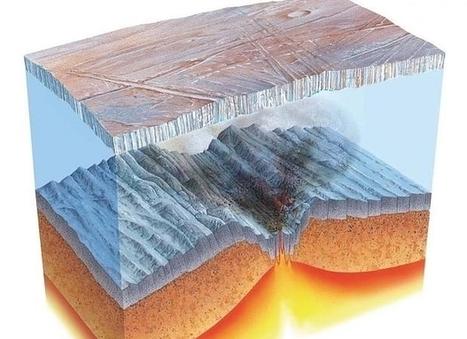 Volcanes submarinos explosivos fundieron el hielo cuando la Tierra era una «bola de nieve» | Biología de Cosas de Ciencias | Scoop.it