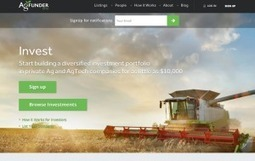 AgFunder Brings Equity Crowdfunding to Sustainable Agriculture | FoodHub Las Vegas | Scoop.it