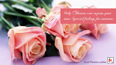 You can express your peculiar feelings through send #flowers online. | BlossomSquare online flowers delivery system | Scoop.it