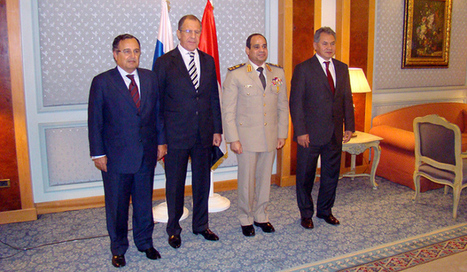 Un contrat d'armement entre Moscou et Le Caire | Égypt-actus | Scoop.it