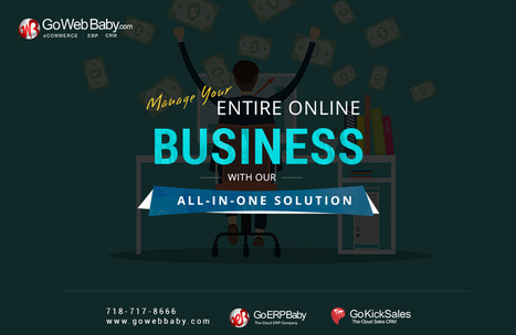 Manage your Entire Online Business with Our All-In-One Solution | Gowebbaby's Prestigious Web Design | Scoop.it