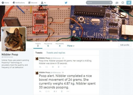 Building a Twitter-enabled Litterbox   Open Source Hardware News   Scoop.it