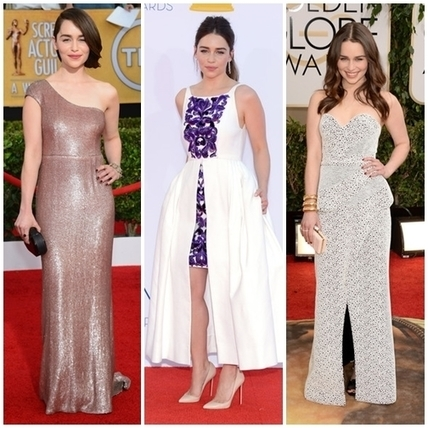 The Best Emilia Clarke Red Carpet Dresses » Celebrity Fashion, Outfit Trends And Beauty News | Celebrities | Scoop.it