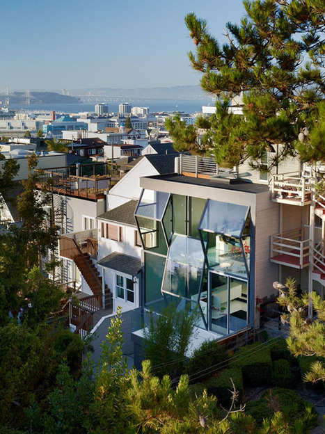 Flip Glass House in San Francisco by Fougeron Architecture | DesignRulz | What Surrounds You | Scoop.it
