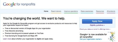 Google for NonProfits | Nils Smith | SM4NPGoogleplus | Scoop.it