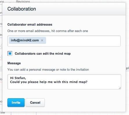 Mind42. Outil de mindmapping gratuit et collaboratif   Les outils du Web 2.0   Scoop.it
