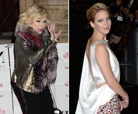 Joan Rivers Slams Jennifer Lawrence After 'Fashion Police' Criticism - Hollywood Life | Ladies Fashion Tips | Scoop.it