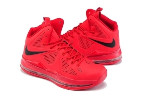 Nike Air Max LeBron James X EXT CORK QS Red Buy Cheap | Kobe 8 All Star | Scoop.it