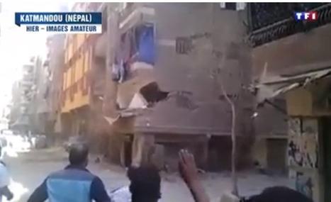 Séisme au Népal: TF1 diffuse des images d'un immeuble qui s'effondre... en Egypte | DocPresseESJ | Scoop.it