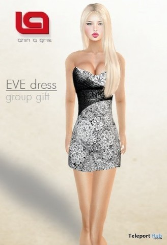 Eve Dress Group Gift by ANIN a GRIS | Teleport Hub - Second Life Freebies | Second Life Freebies | Scoop.it